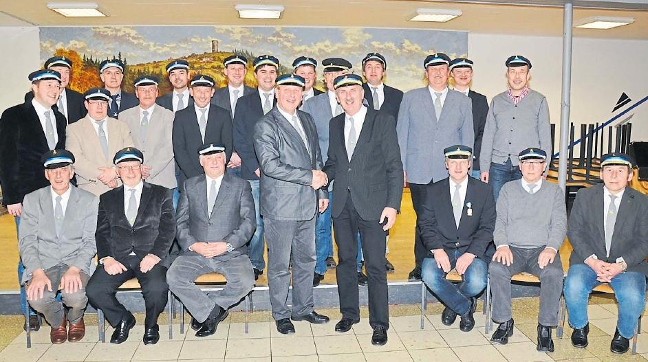 Vorstand Schützenverein 2014