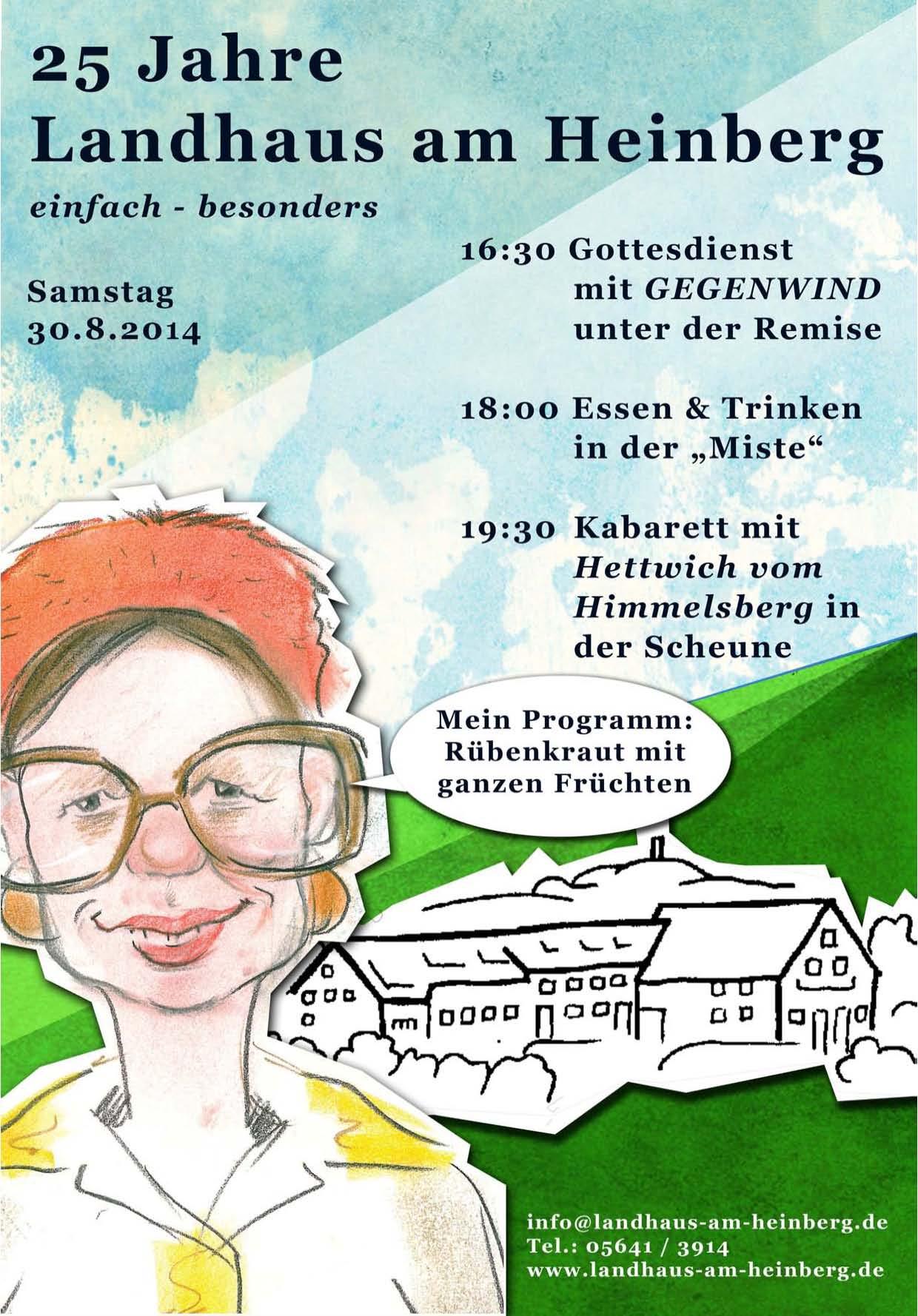 25 Jahre Landhaus am Heinberg