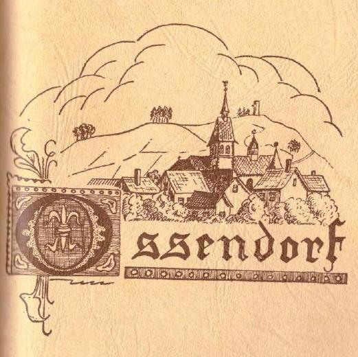 Deckblatt Ossendorf 1966