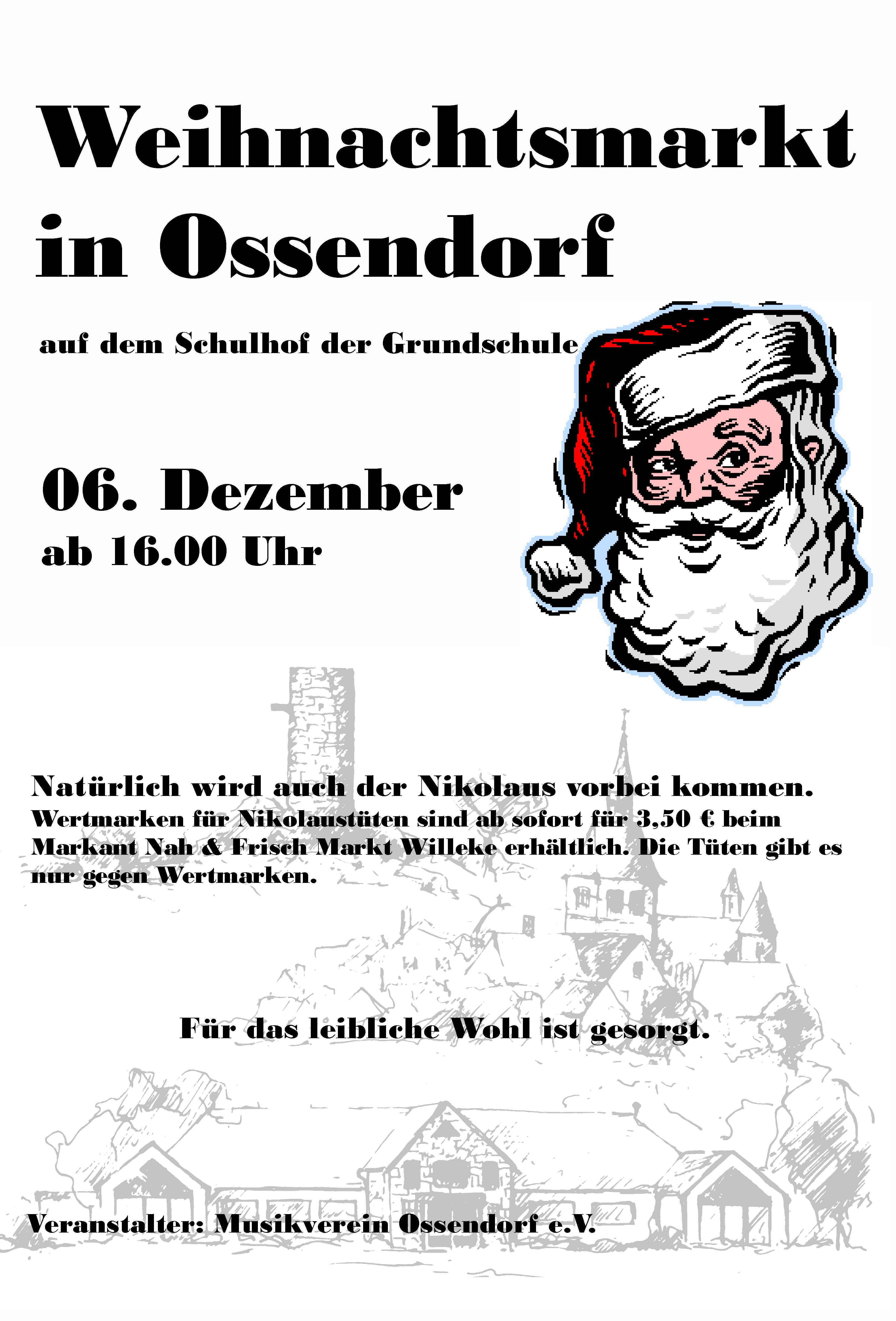 Weihnachtsmarkt Plakat 2014