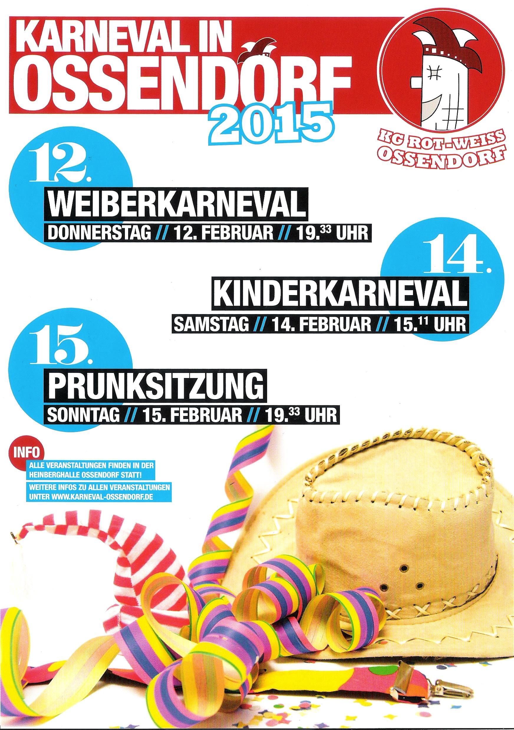 Karneval in Ossendorf 2015